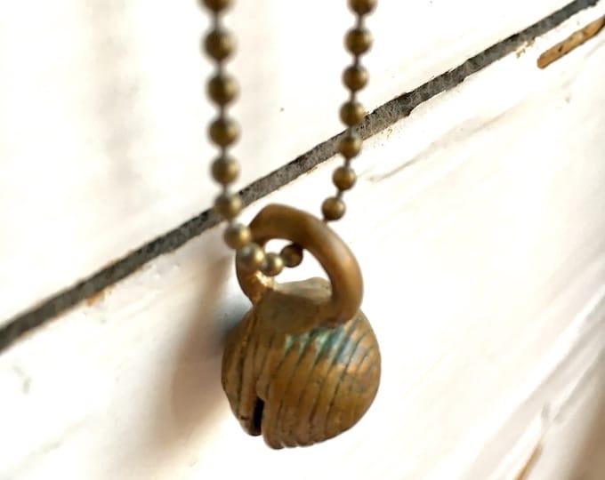 Ghanese bronze charm