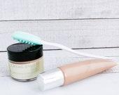 Creme Brulee Exfoliating Lip Scrub, Extra Fine Sugar, Vegan Skincare