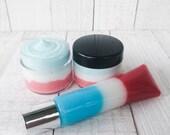 Red, White And Blue Popsicle Exfoliating Lip Scrub, Extra Fine Sugar, Vegan Skincare