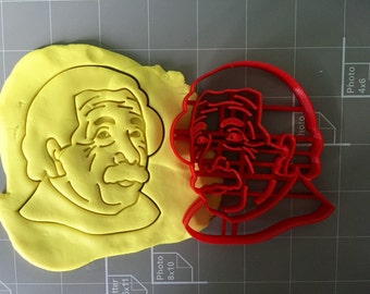 Albert Einstein Cookie Cutter