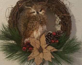 Have an Owl Christmas OAK