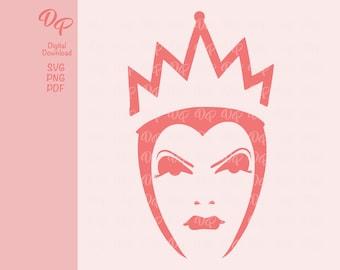 Evil Queen   DP115   Halloween   SVG   PNG   Digital Download