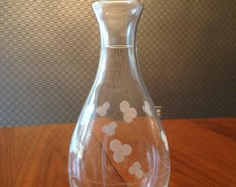 Vintage Irish glass decanter