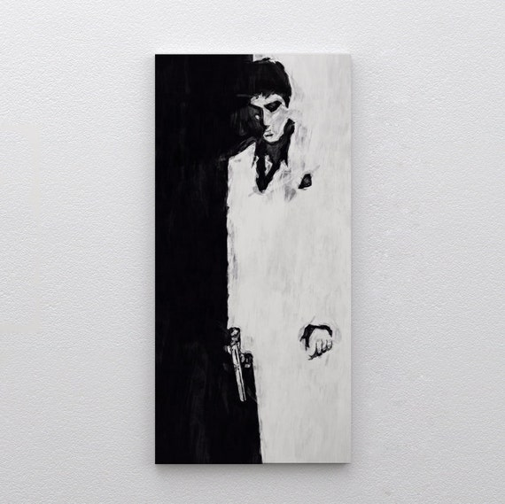 Wm Scarface Al Pacino Unique Tattoo Icon Giant Wall Art Poster Print