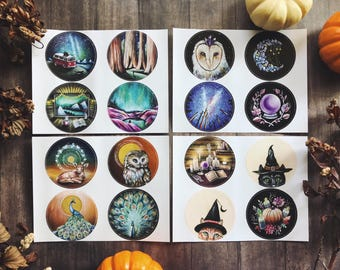 Pack of 4 Sticker Sheets