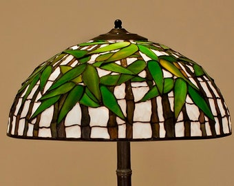 Asian Lamp, Bamboo Lamp Shade, Asian Decor, Bamboo Light, Bamboo Art, Asian Antiques, Bamboo Lamp, Asian Style Lamp, Bamboo Pendant Light