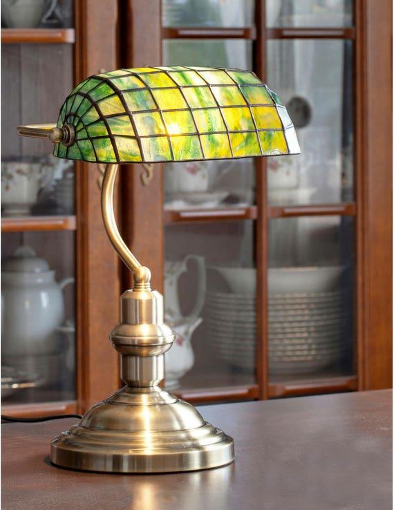 Klavier Lampe Bibliothek Lampe Klavier Licht Glasmalerei Etsy