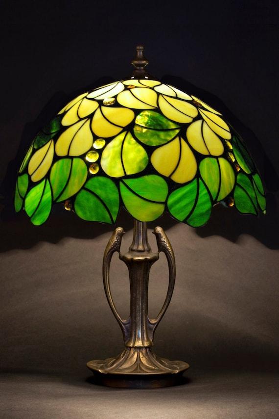 Tischlampe Tiffany Lampe Kuche Licht Leselampe Bibliothek Etsy