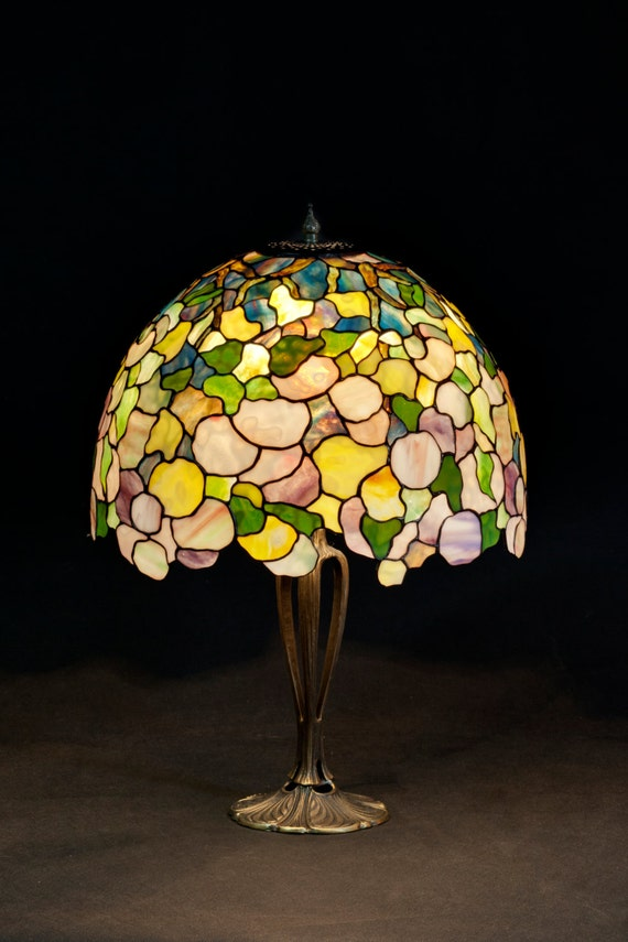 Office Lamp, Table Lamp, Stained Glass Shade, Bedside Lamp, Lamp Stand, Stained Glass Light, Standing Lamp, Home Decor, Stained Glass Art