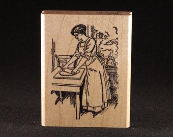 "Baking Rubber Art Stamp (2"" x 3"")"