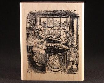 "Sheep Shop Fine Art Stamp (2.75"" x 3.5"")"