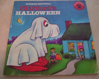 cliffords halloween norman bridwell pb 1986 vintage