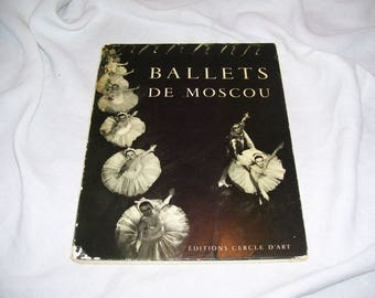 Ballets De Moscou  Moscow Ballet Photographs  Yves Bonnat  Pb 1956 Vintage
