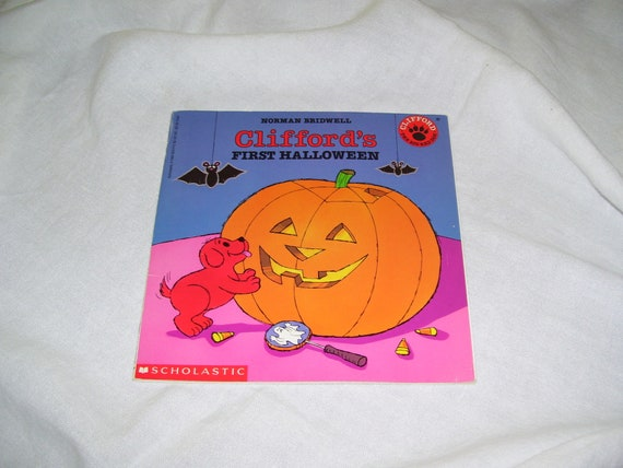 cliffords first halloween by norman bridwell pb 1995