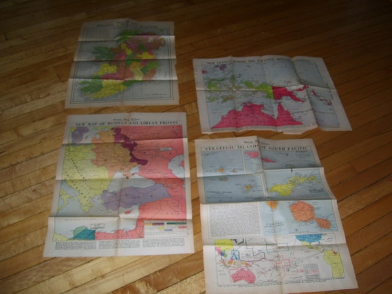 WWII Maps 1942 Chicago Tribune South Pacific, New Guinea, Ireland, Chicago Tribune Map on people map, chicago murder map, chicago area map, chicago street map with numbers, chicago highway map with names, english map, goose island chicago map, chicago ward map, chicago indianapolis map, google map, chicago cubs map, the state map, chicago crime map, chicago suburban map, chicago united states map, chicago road map, chicago aurora map, chicago texas map, ap map, chicago bay map,