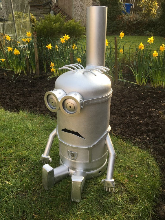 Onwijs Items similar to Minion Wood Burner Log Chiminea Patio Heater on Etsy EE-27