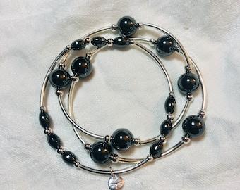 Hematite Anti-Anxiety/Harmony Bracelet