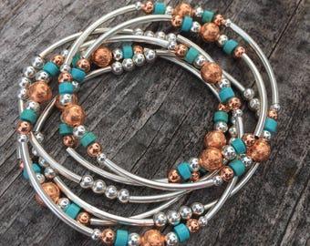 Something Sassy Stackable Bracelets