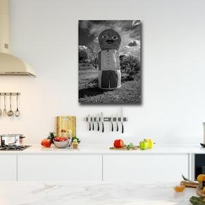 Kitchen Wall Decor Black And White Art Etsy
