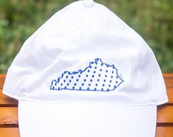 Kentucky State Ball Cap, Polka Dot