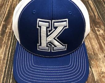 Kentucky K Ball Cap, K Ball Cap, Kentucky Hat