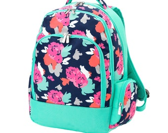 Amelia Backpack, Monogrammed Free