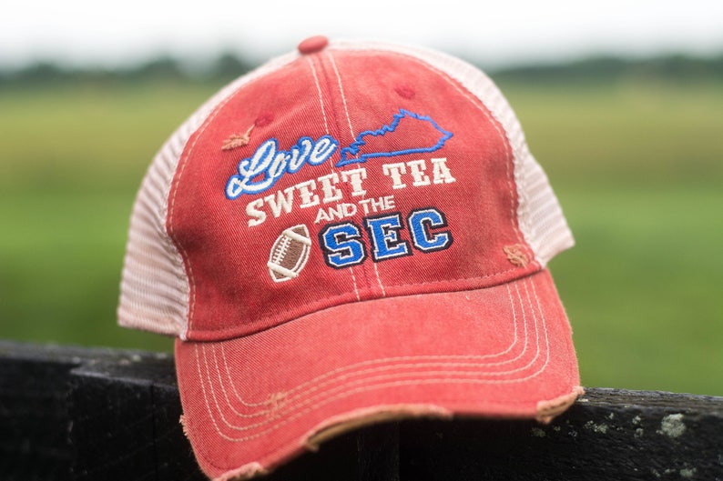 Love Sweet Team and the SEC Ball Cap Hat Football image 0