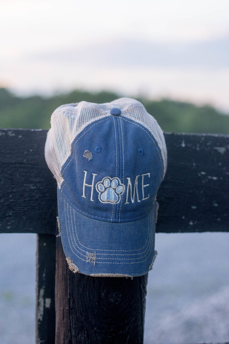 HOME with Paw Trucker Hat image 0