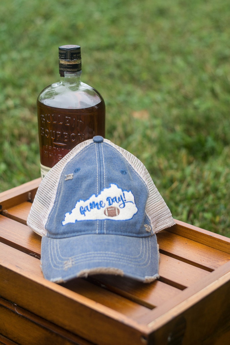 Game Day in Kentucky Trucker Hat image 0