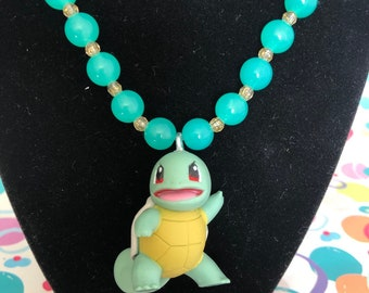 Squirtle necklace | Etsy