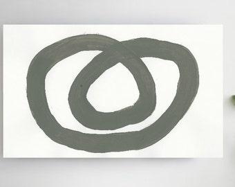 GRAY White minimalist painting Large Abstract , Acrylic Painting, Abstract Painting Canvas, Modern Contemporary elegant Fine Art TITAN BOTS