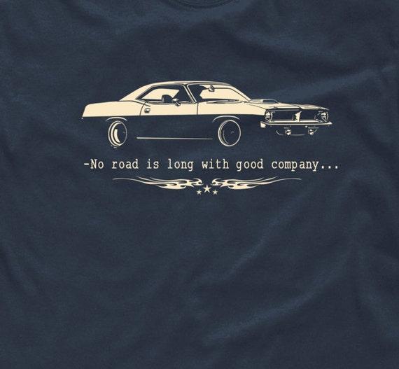 Muscle Car T Shirt V8 Supercharger Classic Hemi Us Retro Cuda Etsy