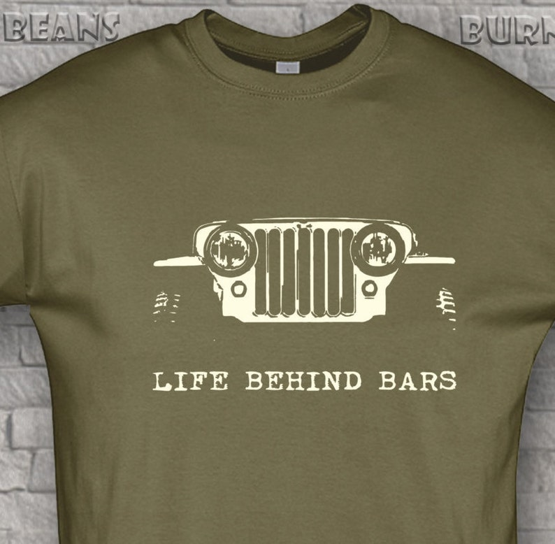 17e4fd55c Off road t-shirt awd jeep t-shirt 4X4 willys funny gift life | Etsy
