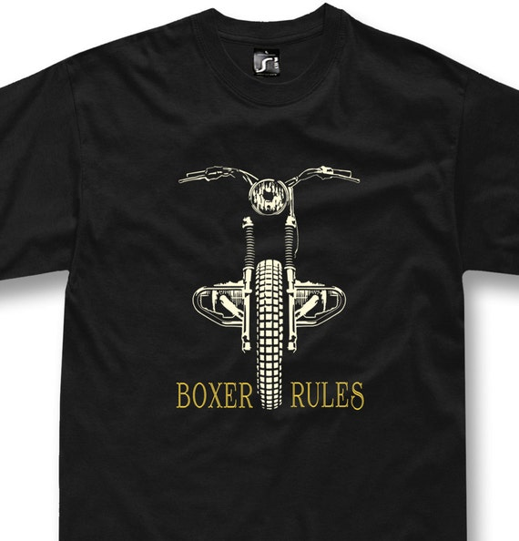 klassische boxer motorrad bmw t shirt custom motorrad etsy. Black Bedroom Furniture Sets. Home Design Ideas