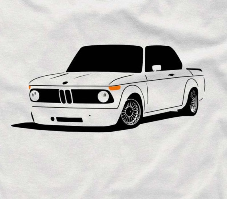 Classic T Shirt For Bmw 2002 Fans 2002tii 1602ti 1802 02 Tshirt S 5xl