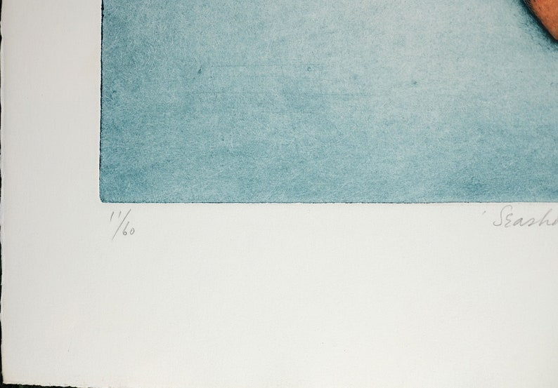 Vintage Serigraph Print Aquatint Etching by Thomas O/'Donoghue The Minister Pencil Signed Limited Edition 60