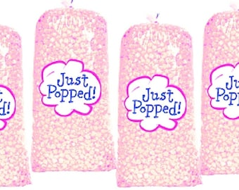15e149aa 4-Pack Pink Baby Shower Colored Party Popcorn
