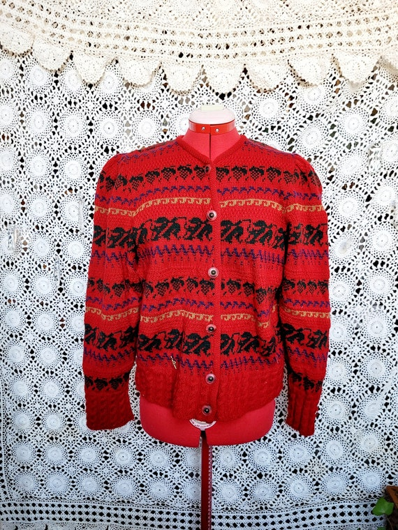 Vintage Austrian Sweater | Kitz-Pichler | L∆rge