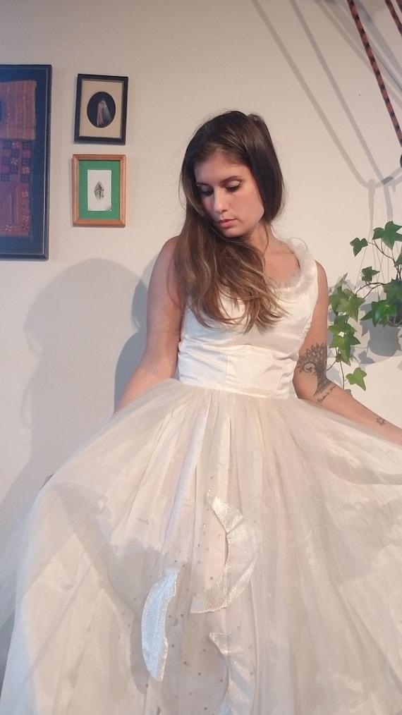 Vintage Tulle Moon Dress