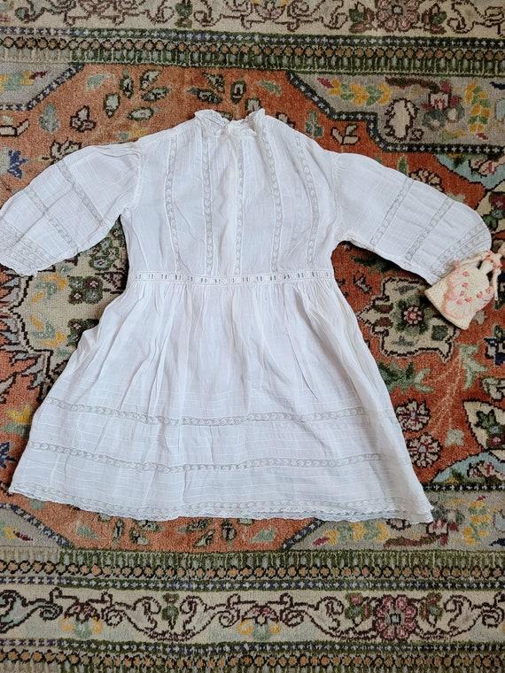 Edwardian Cotton Childrens' Dress