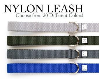 Add-On: Solid Nylon Leash - Generic Listing