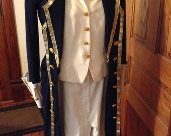 1700s Naval officer Uniform/teen size