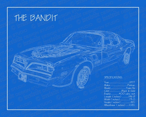 1977 pontiac trans am smokey the bandit blueprint malvernweather Images
