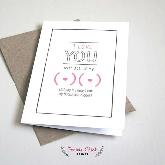 instant download love you card PDF 5x7 card for her card for him Romantic Love You card Printable anniversary card Online Dating card