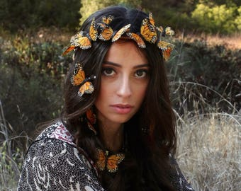Stolen Sunlight Butterfly Crown