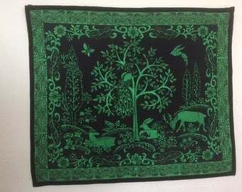 Embroidered Wall Hanging. anita Goodesign made to order. Wall Art, home decor, wall tapestry
