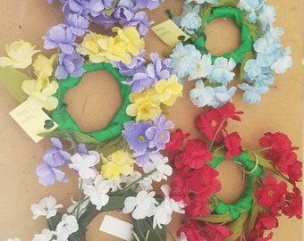 Flowered Taper Rings