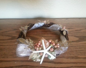 Sparkly Starfish Candle Ring