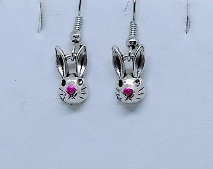 Bunny Earrings - Rabbit Earrings - Easter Earrings - Animal Earrings