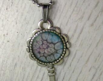 Key Pendant - Key Necklace - Handmade Jewelery